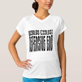 Cool Defensive Ends : Worlds Coolest Defensive End T-Shirt