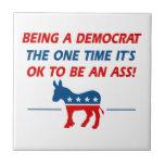 Cool Democratic designs Tile