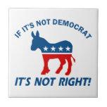 Cool Democratic designs Tiles