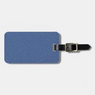 Cool Denim Blue Jeans Bag Tag