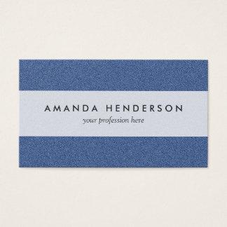 Cool Denim Blue Jeans Business Card