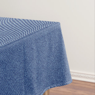 Cool Denim Blue Jeans Tablecloth