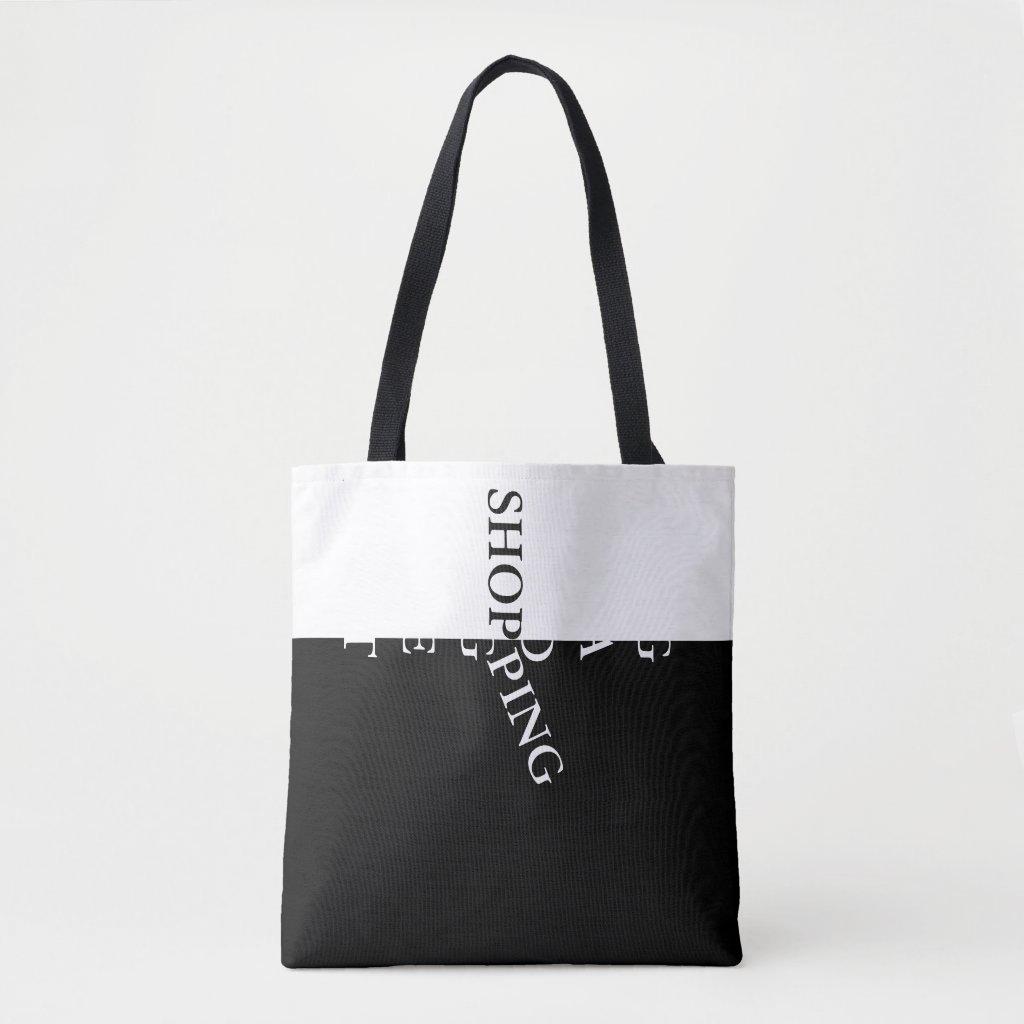 Cool Designer Funny Shopping Meme Tote Bag