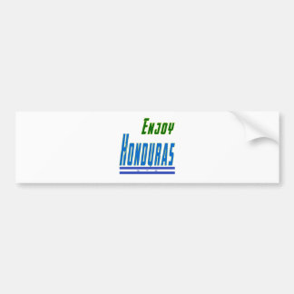 Cool Designs For Honduras Car Bumper Sticker