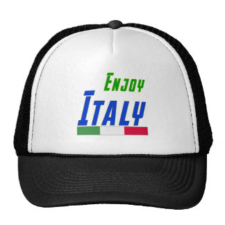 Cool Designs For Italy Trucker Hat