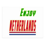 Cool Designs For Netherlands Post Card