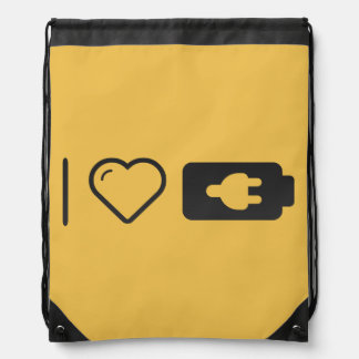 Cool Device Flashdrives Drawstring Bags