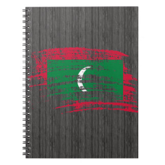 Cool Dhivehin flag design Notebook