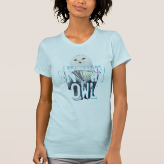 Cool Diamond Snowy Owl T-Shirt