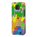 Cool Dinosaur DJ Party Samsung Galaxy S Case Samsung Galaxy S2 Cases