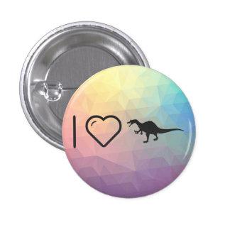 Cool Dinosaur Iguanodons 1 Inch Round Button