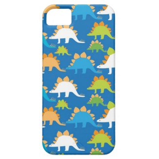 Cool Dinosaurs iPhone 5 Case Blue