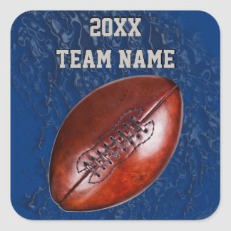 Cool Dirty look BULK Football Stickers YOUR TEXT