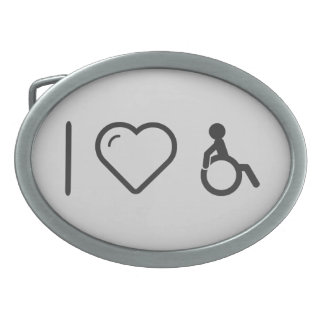 Cool Disabilities Oval Belt Buckles