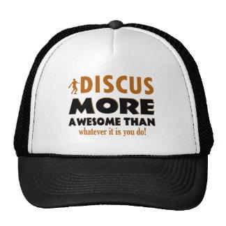 Cool Discus designs Mesh Hat