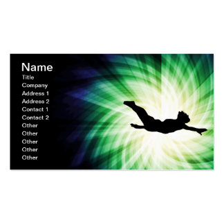Cool Diving Double-Sided Standard Business Cards (Pack Of 100)