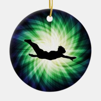 Cool Diving Ceramic Ornament