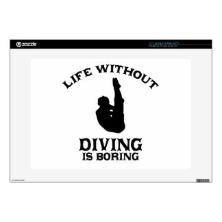 cool Diving DESIGNS Decals For Laptops