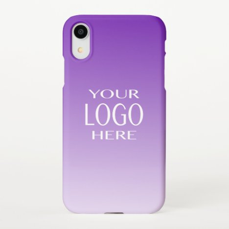 Cool Diy Color Gradient | Your Logo Replacement iPhone XR Case