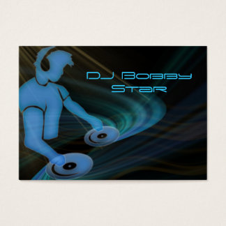 Cool DJ businescard Business Card