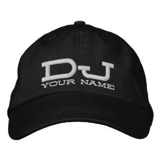 Cool DJ Hat Embroidered Baseball Caps