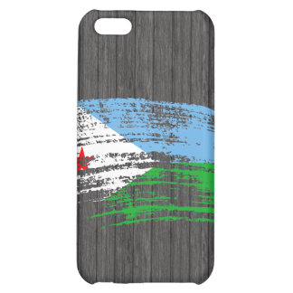 Cool Djibouti flag design Case For iPhone 5C