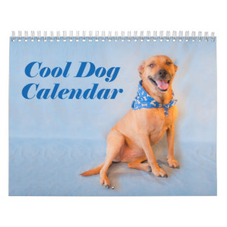 Cool Dog Buffy Wall Calendar