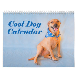 Cool Dog Buffy Calendar