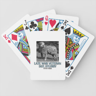 cool dog designs bicycle playing cards