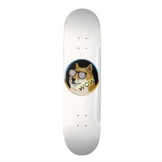 Cool Doge : Dogecoin is WOW! Skateboard Deck
