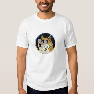 Cool Doge : Dogecoin is WOW! T-shirt