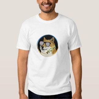 Cool Doge : Dogecoin is WOW! Tee Shirts