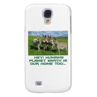 cool Donkey designs Galaxy S4 Cover