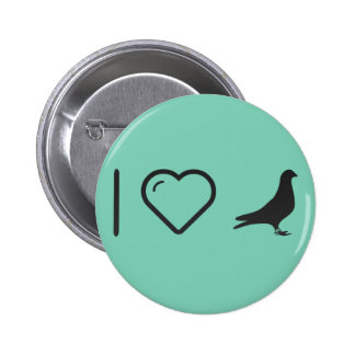 Cool Doves Pinback Button