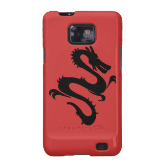 Cool Dragon - change background color! Galaxy S2 Cases