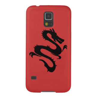 Cool Dragon - change background color! Case For Galaxy S5