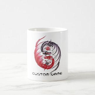 Cool Dragon Yin Yang tattoo Coffee Mug