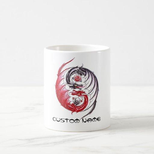 Coffee Maker Yang : Cool Dragon Yin Yang tattoo Coffee Mug Zazzle