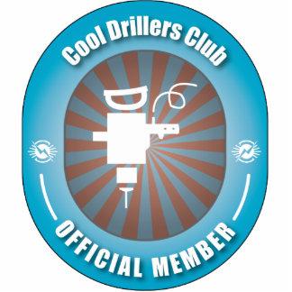 Cool Drillers Club Photo Sculpture Ornament