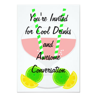 Cool Drink Cocktail Party Invitation