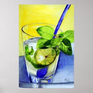 Cool Drink print
