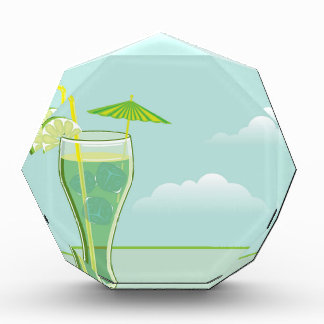 Cool Drink vector Acrylic Award