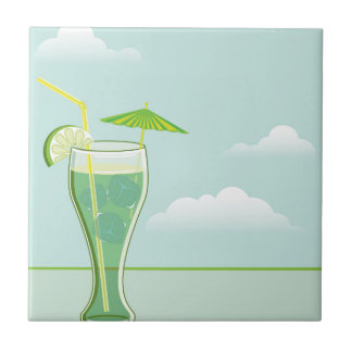 Cool Drink vector Tile