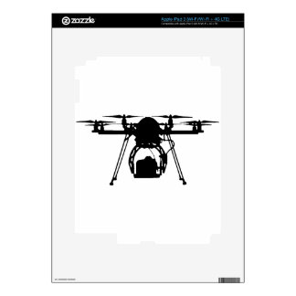 Cool Drone Bro iPad 3 Decals