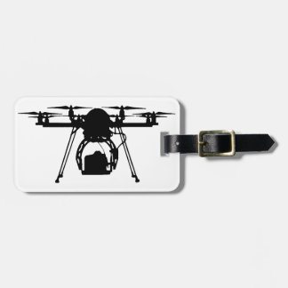 Cool Drone Bro Luggage Tag