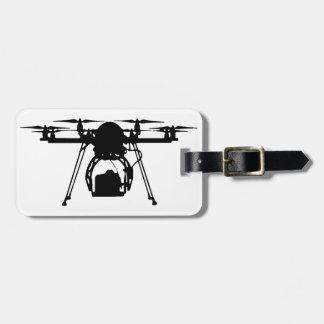 Cool Drone Bro Luggage Tag