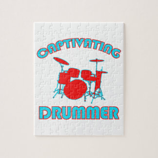 cool drum DESIGNS Jigsaw Puzzle
