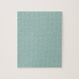 Cool Duck egg blue - add own text, image, design Jigsaw Puzzle