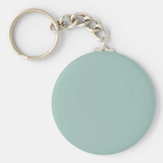 Cool Duck egg blue - add own text, image, design Keychains