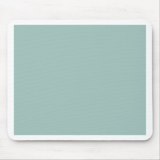 Cool Duck egg blue - add own text, image, design Mouse Pad